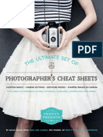 Pretty Presets Ultimate Cheat Sheets