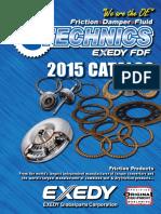 EXEDY Friction Technics Catalog Fall 2014 Web