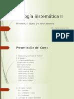 Teología Sistemática II