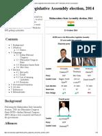 Maharashtra Legislative Assembly election, 2014 - Wikipedia, the free encyclopedia.pdf