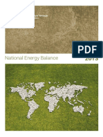 National Energy Balance 2013