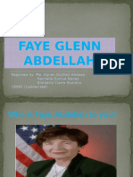 ppt. Faye Abdella