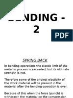 BENDING - 2