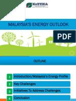 Malaysia's Energy Outlook 2016