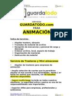 Servicio de alquiler de trasteros para empresas de Animacion