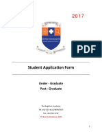 Smu Application Form 2017