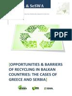 Report Recycling in Balkan Region FINAL
