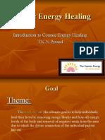 Cosmic Energy Healing History