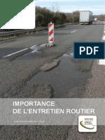 Importance de Lentretien Routier ,2014R02FR