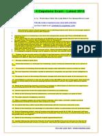 STR 581 Week 4 Capstone Exam - Latest 2015