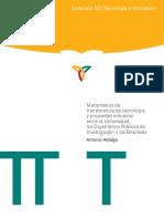 Mecanismos de Transferencia de Tecnologia y Propiedad Industrial