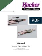 MASTER Basic Manualengl