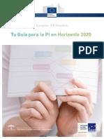 Guia PI e Intelectual en Horizonte 2020
