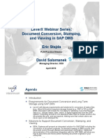 LeverX SAP Doc Conversion Webinar