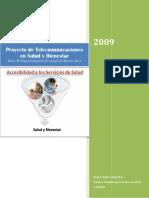 Proyecto de Telecomunicaciones Wellness Para Depto. de Salud