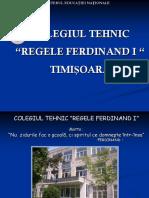 Colegiul Tehnic Energetic Regele Ferdinand I Timisoara