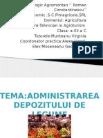 Liceul Tehnologic Agromontan '' Romeo Constantinescu''