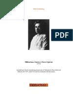 Rosa Luxemburg - Militarismo, Guerra E Classe Operaia.pdf