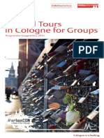Guided Tours in Cologne for Groups