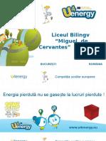 """Liceul Bilingv """"Miguel de Cervantes"""" BUCUREȘTI"""