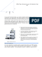 FAQ Approved PDF UV Det Flow Cell