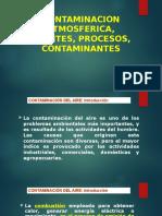 8. Contaminacion Atmosferica, Fuentes, Procesos, Contaminantes