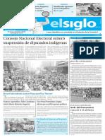Edición Impresa El Siglo 01-08-2016
