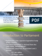 52398006 Ppt of Indian Parliament