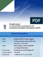 Anaphraseus_Presentation.odp