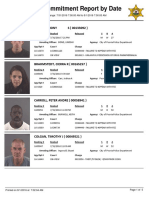 Peoria County Jail Booking Sheet for Aug. 1, 2016