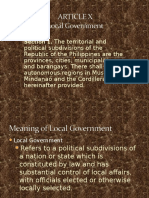 77828264 ARTICLE X Local Government