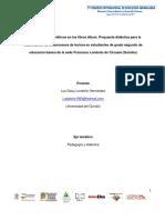 Los niveles ético-estéticos en los libros álbum. Propuesta didáctica para la cualificación de los procesos de lectura en estudiantes de grado segundo de educación básica de la sede Francisco Londoño de Circasia (Quindío)