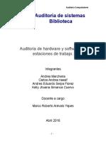 Auditoria Biblioteca