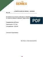 ADENDO No.02 Regulamento Particular  - carros e caminhões