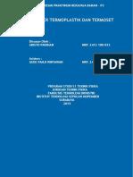 263169007 Praktikum Rekayasa Bahan Tentang Polimer