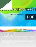 Area de Produccion Monceper