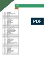 Sertões Series - Lista Extra-Oficial de Inscritos (carros e caminhões)