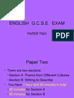 ENGLISH Paper2 Exam