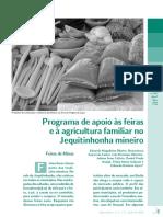 Artigo 1 Programa de Apoio Às Feiras e à Agricultura Familiar No Jequitinhonha Mineiro1