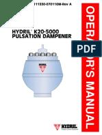 Manual Hydrill K20-5000