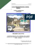 Estudio de Pre Inversión a Nivel de Perfil Del Local Comunal de Juprog