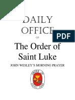 Wesley's Morning Prayer Bundle - OSL