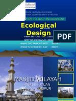 The Mosque's Design
