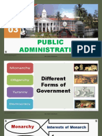 History 03 Public Administration
