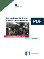 Les radicaux de droite dans le conflit russo-ukrainien