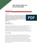 Paraguay puede mejorar status con producción de biocombustible.docx