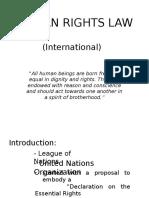 International Human Rights Presentation