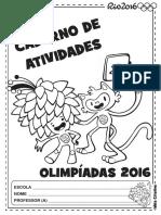 Caderno de Atividades Olimpíadas 2016 Faixa Etária 5 Anos