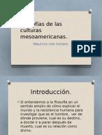 Filosofías de Las Culturas Mesoamericanas