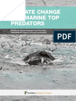 Climate Change and Marine Top Predators